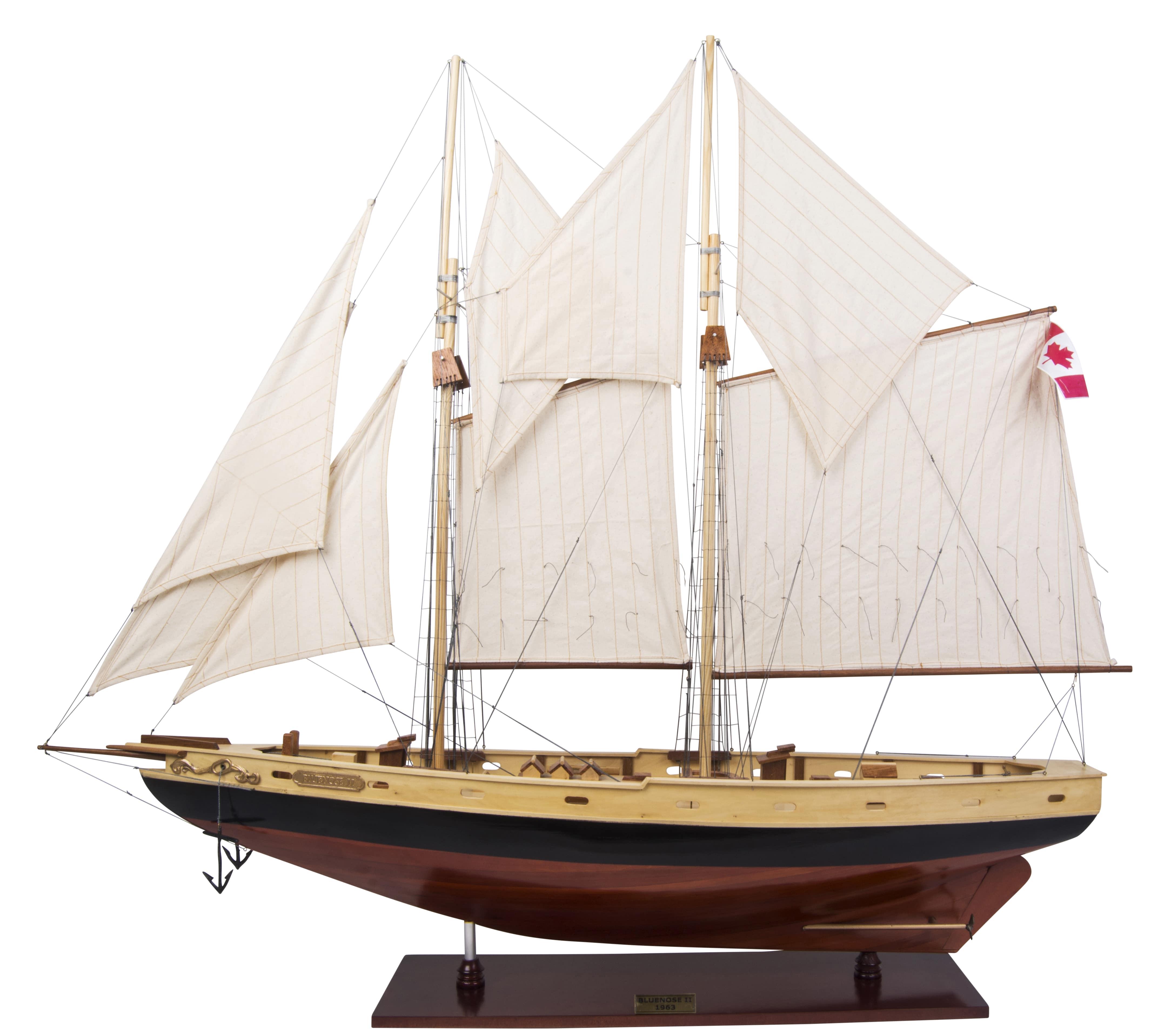 Bluenose II Model Yacht (Standard Range) - Authentic Models (AS138)