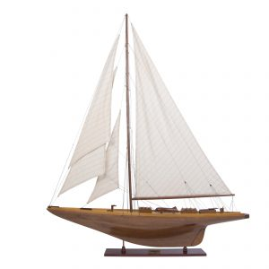 Shamrock Wooden Model Yacht (Standard Range) - Authentic Models (AS157)