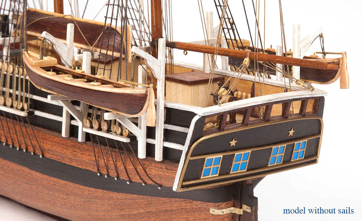 Essex Basic Model Boat Kit (without Sails) - Occre (12006B)