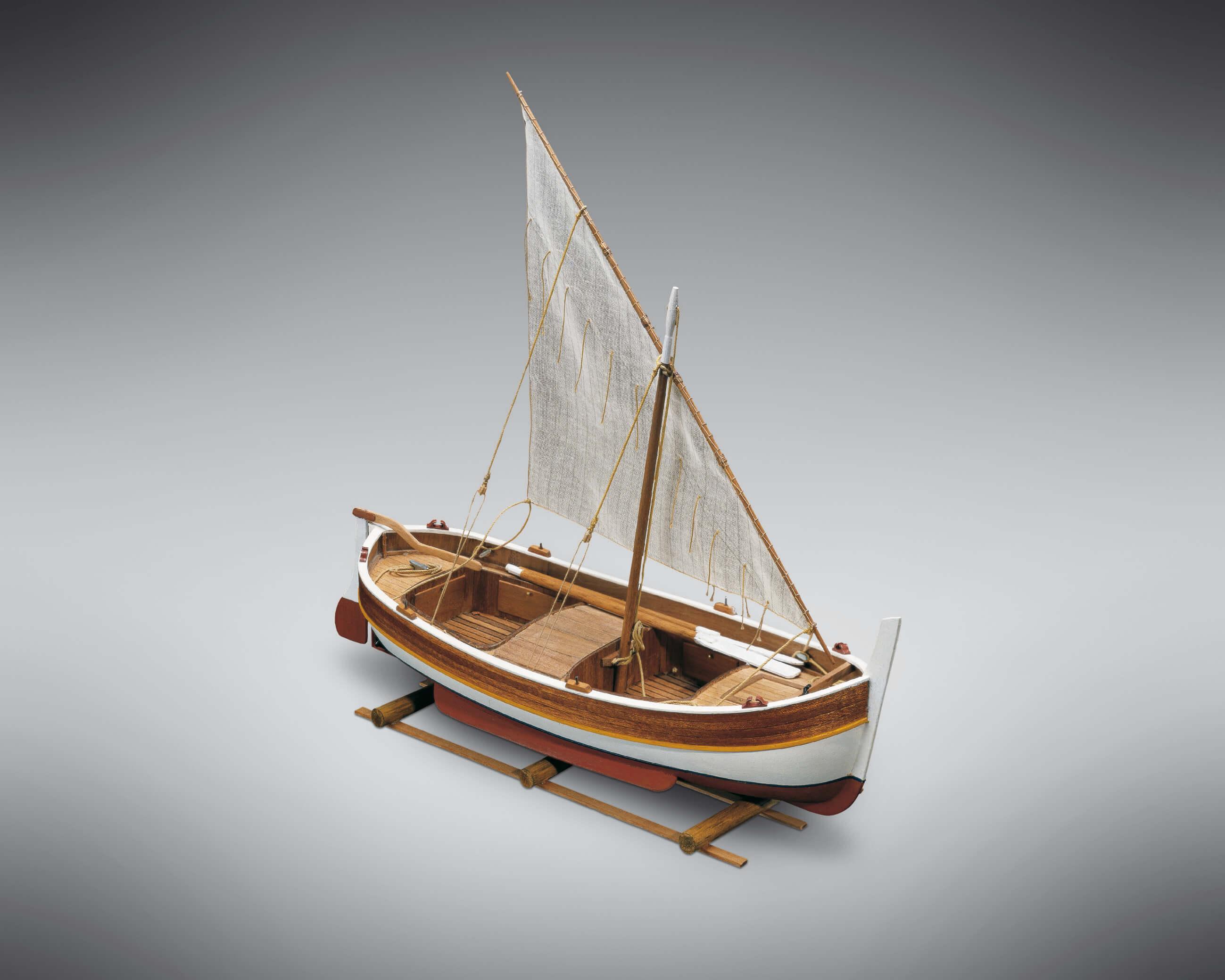 Gozzo Mediteraneo Ship Model Kit – Mini Mamoli (MM07)