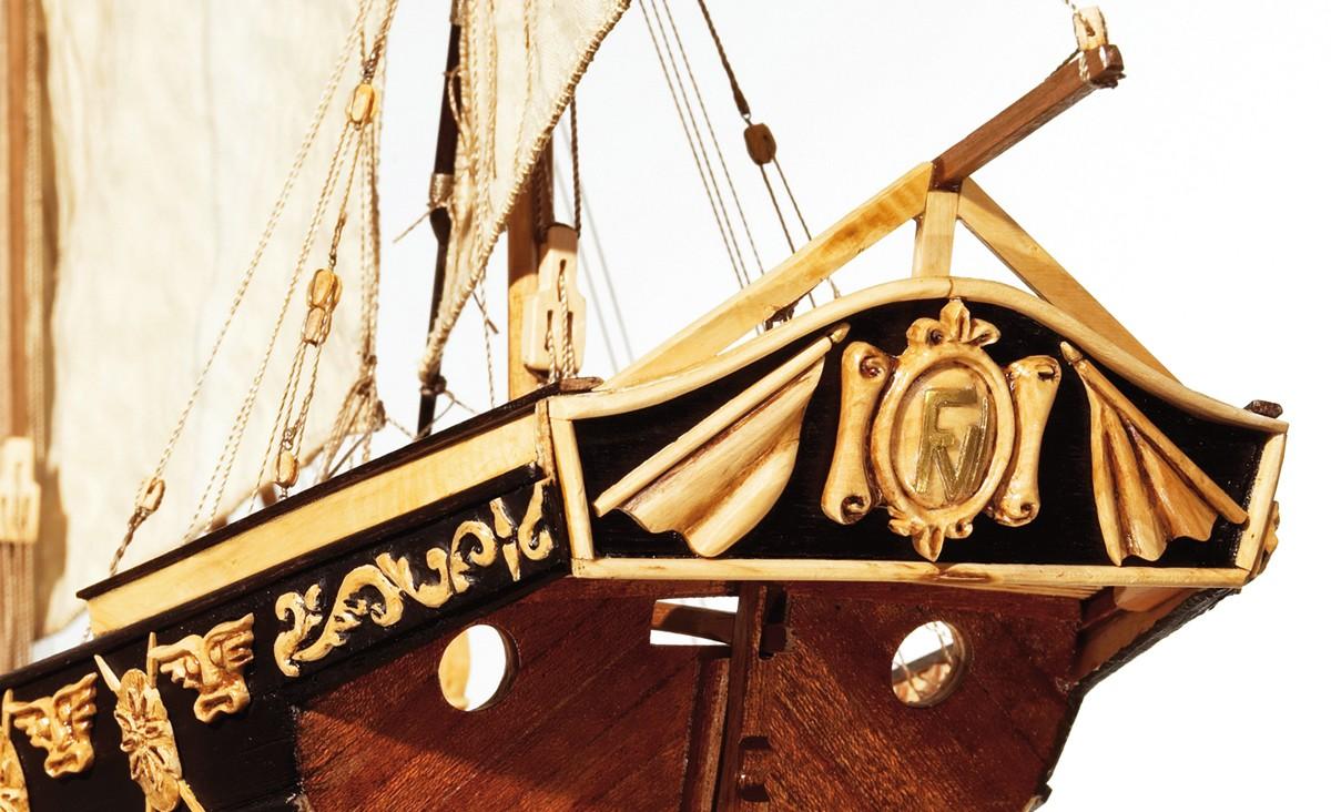 Cazador Xebec Wooden Model Ship Kit - Occre (14002)