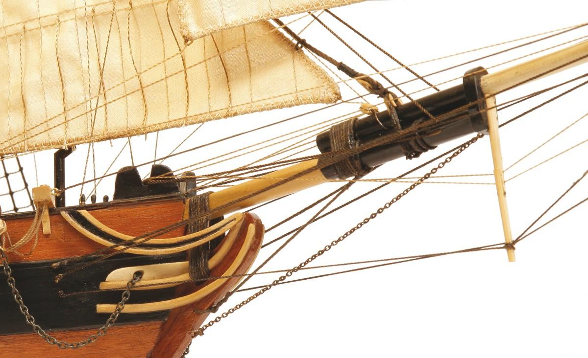 Dos Amigos Schooner Ship Model Kit - Occre (13003)