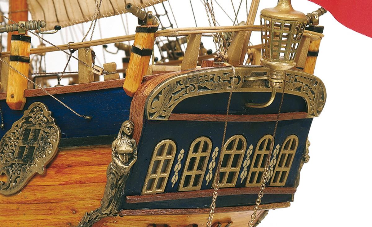 HMS Endeavour Model Boat Kit - Occre (14005)