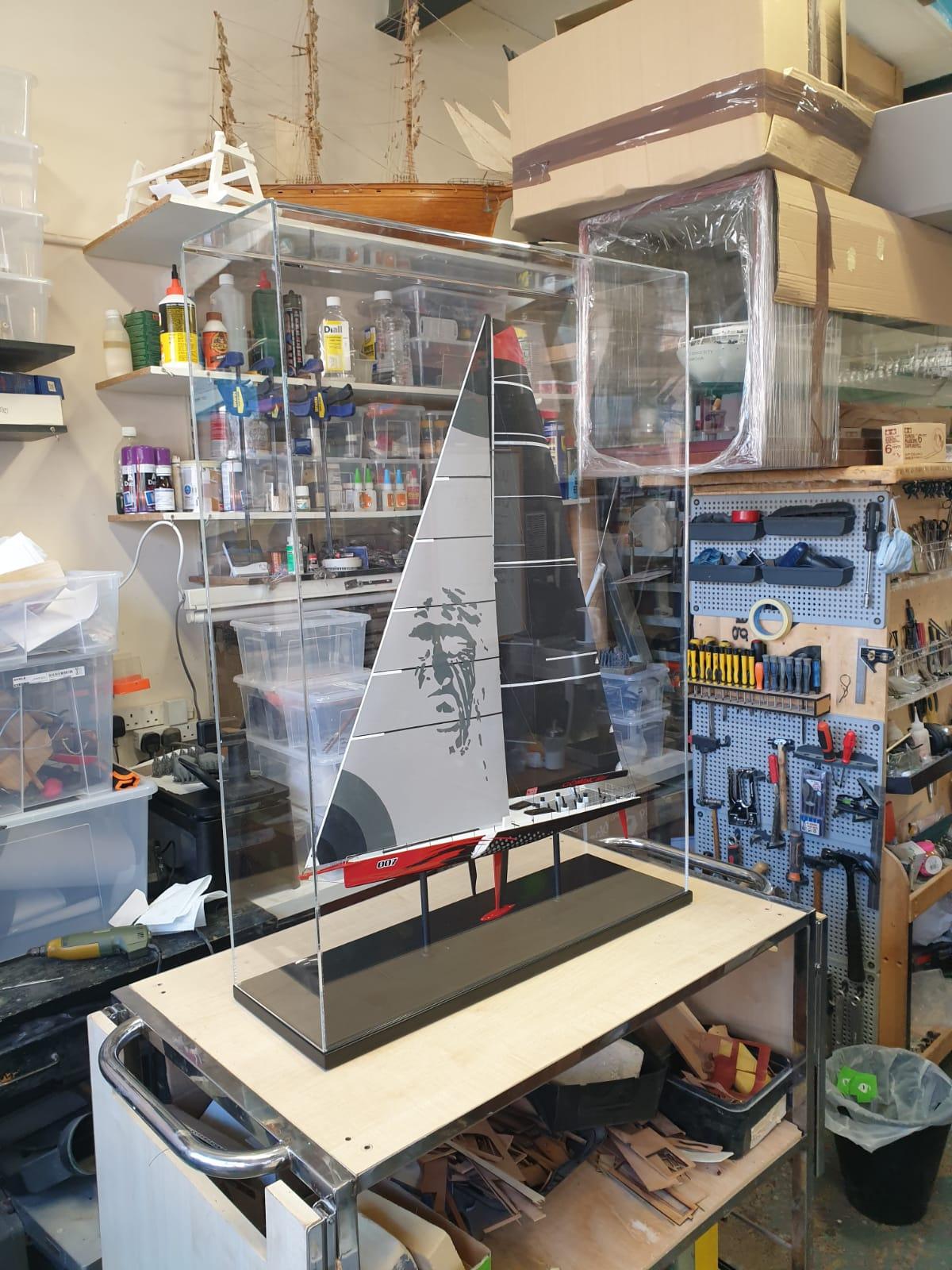 Comanche Model Yacht