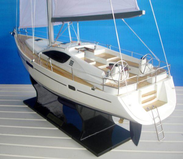 Jeanneau Sun Odyssey 45DS Ship Model - GN (YT0035P)