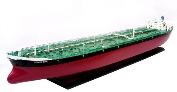 Seawise Giant Wooden Model Ship - GN (TK0056P)