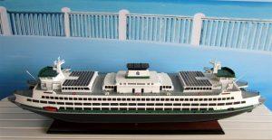 Washington State Ferry Model - GN (TK0024P)