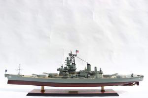 USS New Jersey Wooden Model Ship - GN (BT0113P)