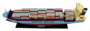 Maersk Ferrol Model Container Ship - GN (TK0080P)