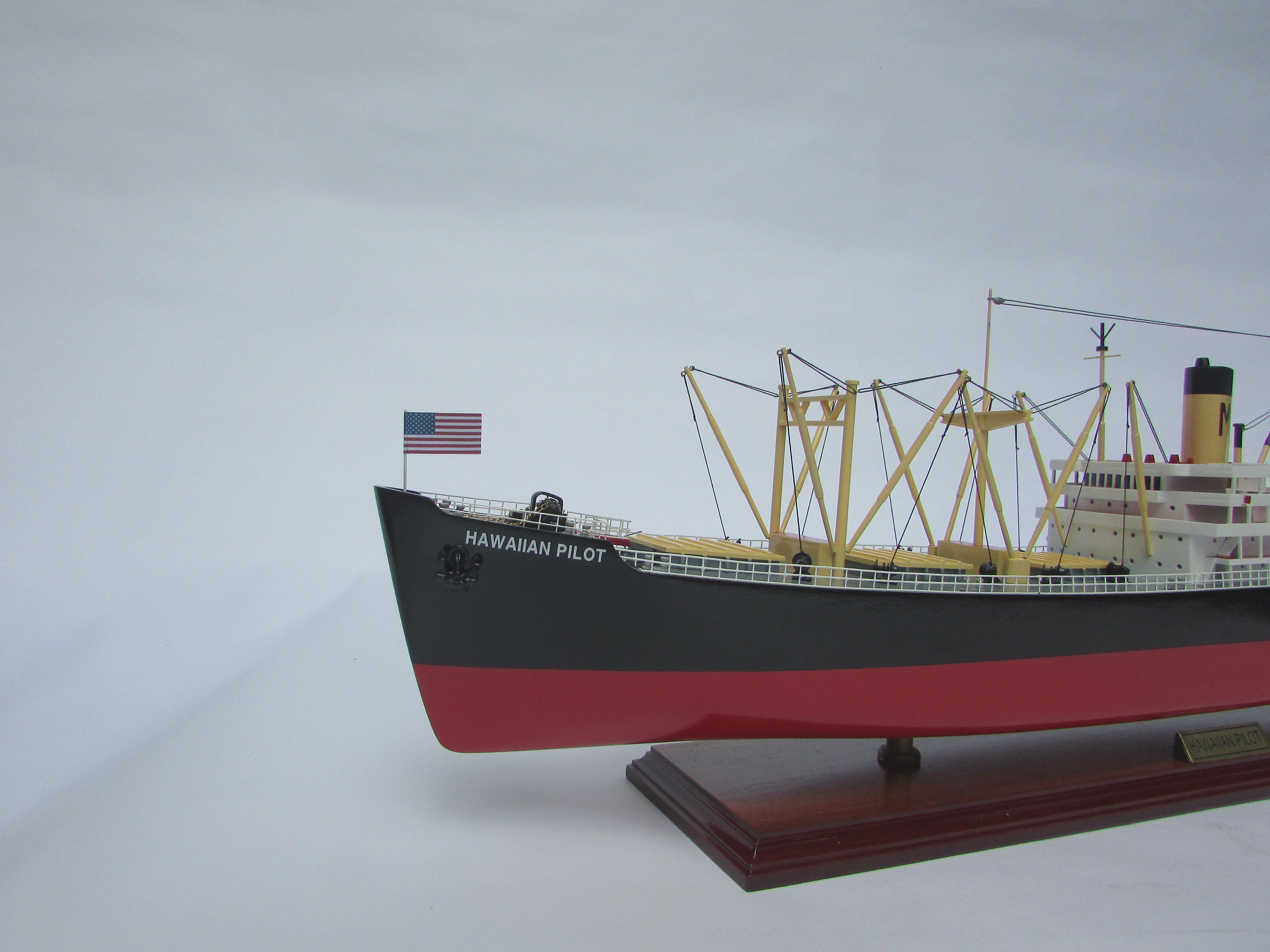 Hawaiian Pilot Ship Model - GN (TK3108P)