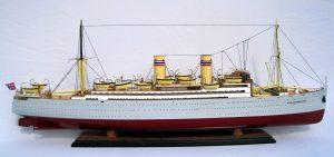 SS Stavangerfjord Wooden Model Ship - GN (CS0044P)
