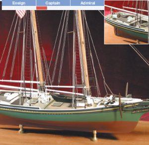 Smuggler Wooden Model kit - BlueJacket (K1012)