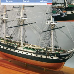 USS Constitution Ship Model Kit - BlueJacket (K1018)