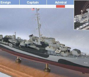USS Samuel B. Roberts, DE413 Model Ship Kit - BlueJacket (K1033)