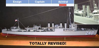 310' Destroyer Model Ship Kit - BlueJacket (K1034)