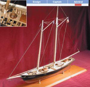 America Model Yacht Kit - BlueJacket (K1050)