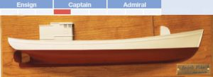 Jacob Pike Half Model Boat Kit - BlueJacket (K1061)
