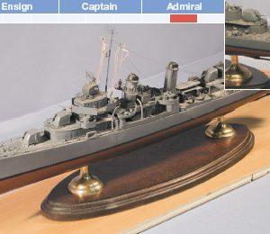 USS Kidd, DD661 Model Boat Kit - BlueJacket (K1077)