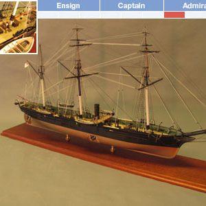 CSS Alabama Model Ship Kit - BlueJacket (K1101)