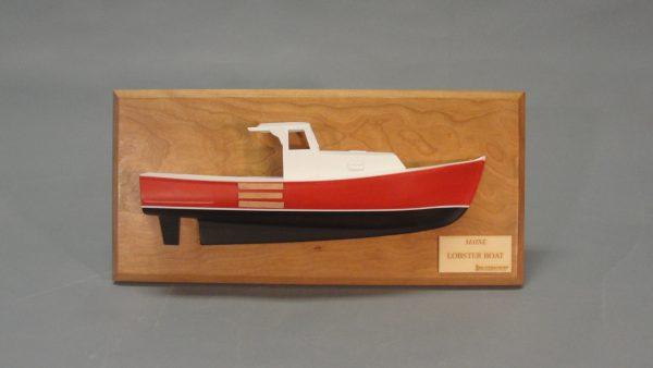 Lobster/Picnic Boat Half Model Kit - BlueJacket (K1103)