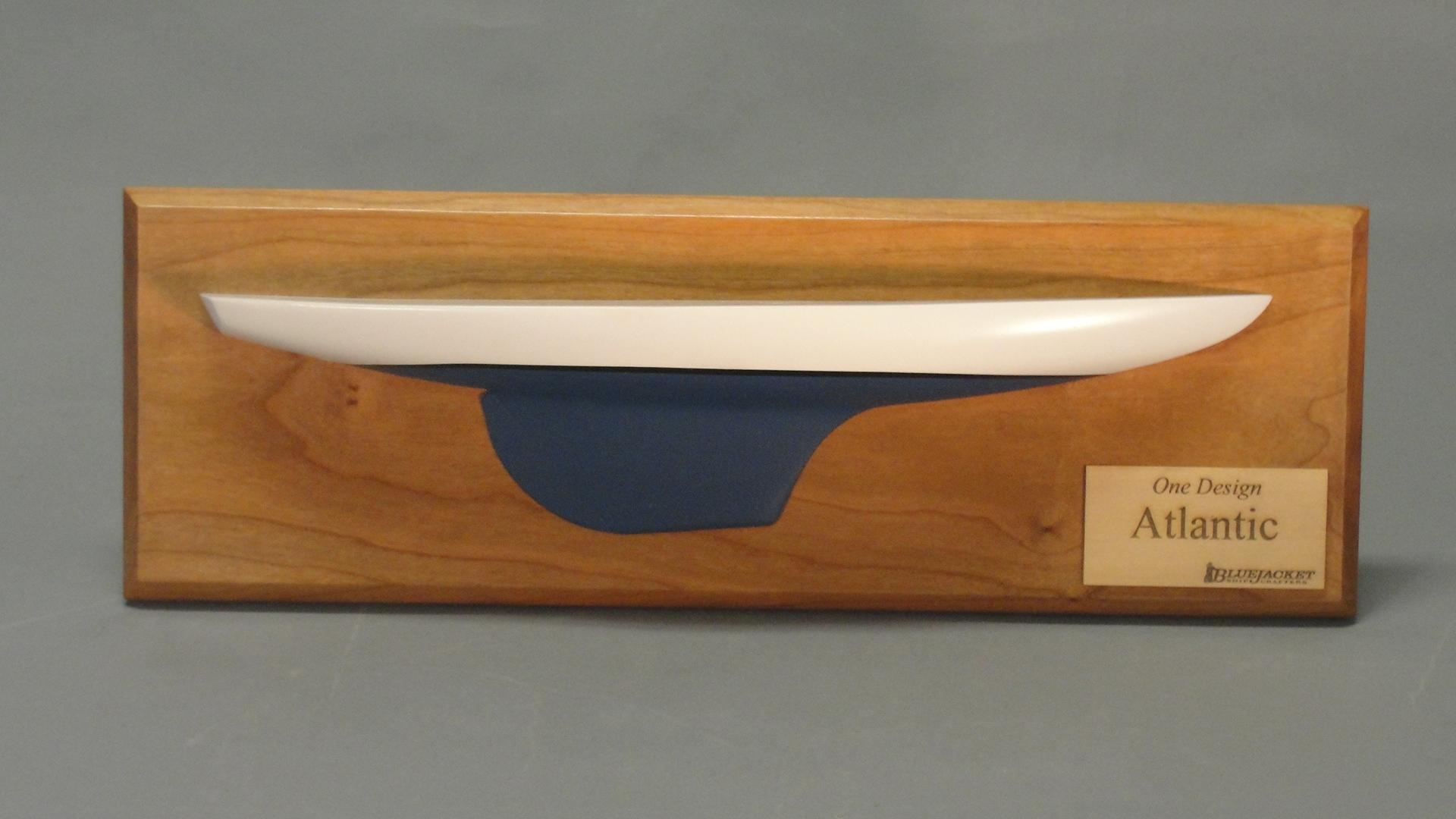Atlantic One Half Model Wooden Model kit - BlueJacket (K1104)