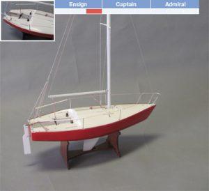 J/24 Yacht Model Kit - BlueJacket (K1105)