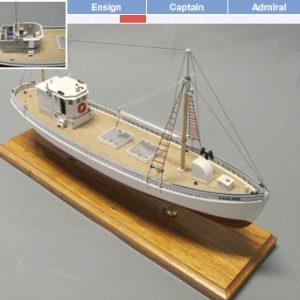 Pauline Model Boat Kit - BlueJacket (K1110)