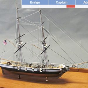 USS Perry Model Ship Kit - BlueJacket (K1112)