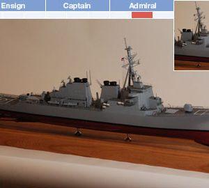USS Arleigh Burke Ship Model Kit - BlueJacket (K2051)