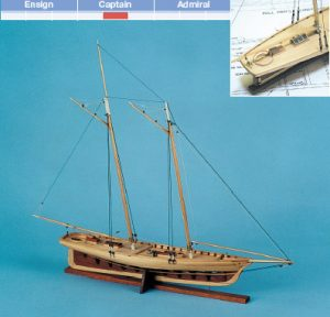 America Yacht Model kit - BlueJacket (KLW143)