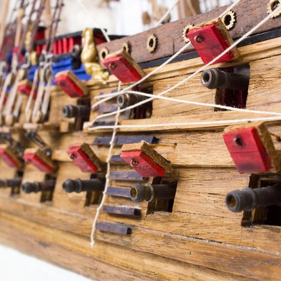 Zeven Provincien (Oak) Model Boat Kit - Kolderstok (KOL5)