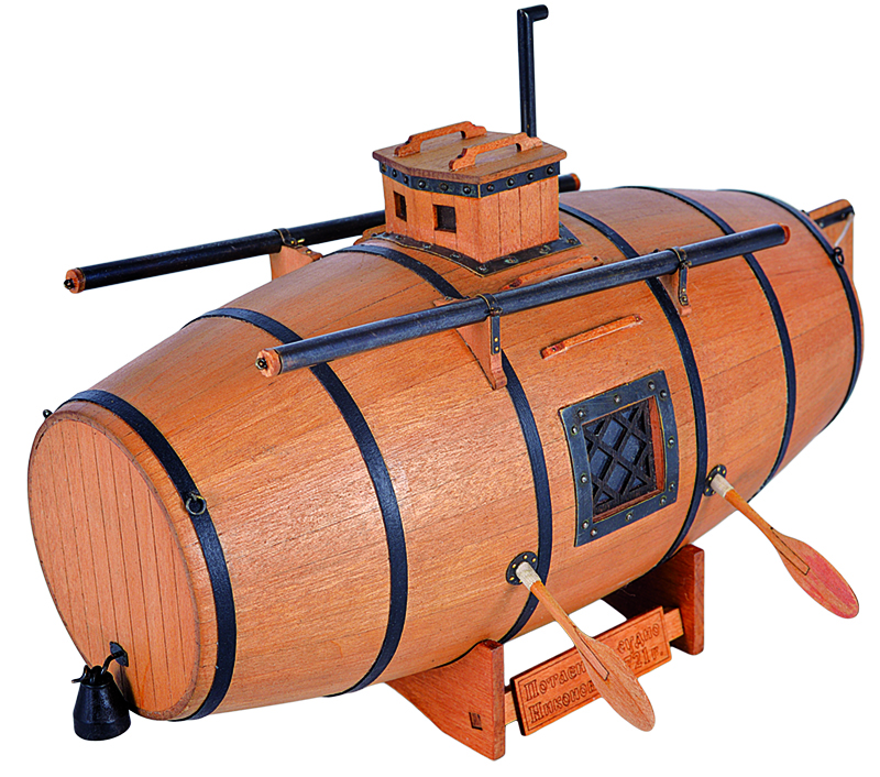 """Morel """"Secret Vessel"""" Model Ship Kit - Master Korabel (MK0203)"""